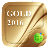 Download  Gold 2016 GO Keyboard Theme  Apk