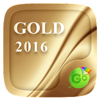 Gold 2016 GO Keyboard Theme For PC (Windows And Mac)