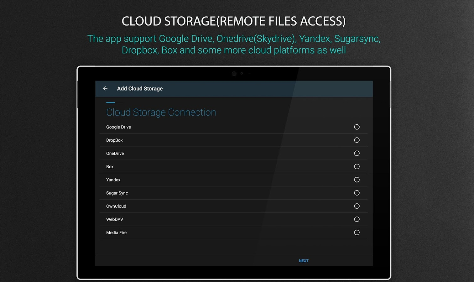 File Manager - Local and Cloud File Explorer Screenshot 10