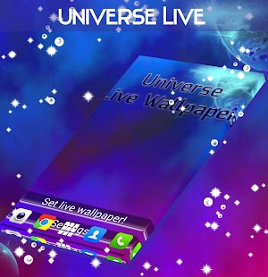 Universe Live Wallpaper - screenshot