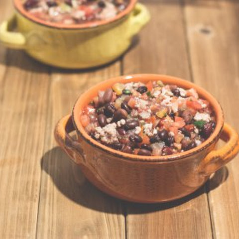 Easy Turkey & Three Bean Chili