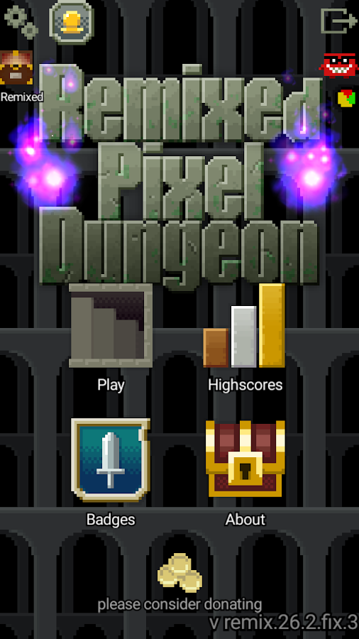 Remixed Pixel Dungeon Screenshot
