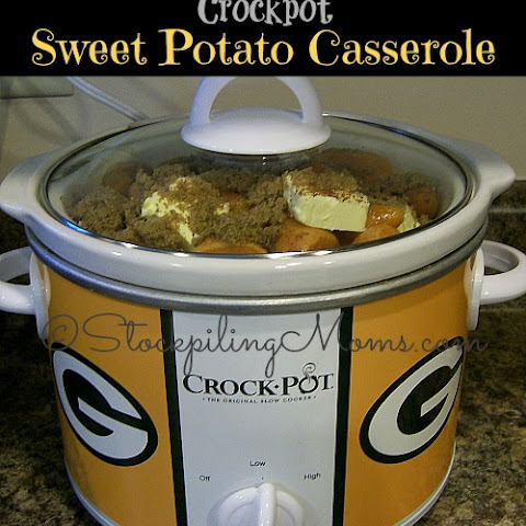 Crockpot Sweet Potato Casserole