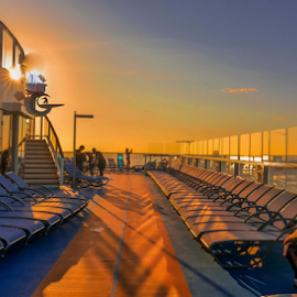by Joseph Law - Transportation Boats ( holiday, cruiseship, chairs )