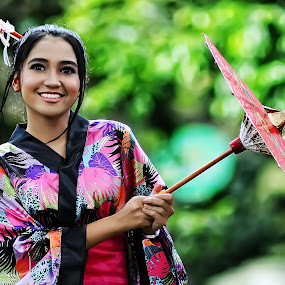 GEISHA  by Aldhy Eka Putra - People Portraits of Women