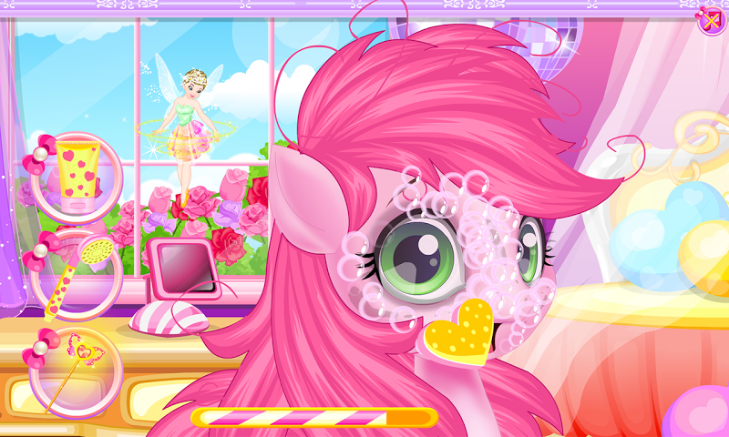 android Baby pony grooming makeover Screenshot 1