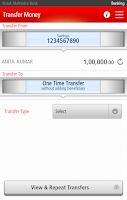 Screenshot of Kotak Bank