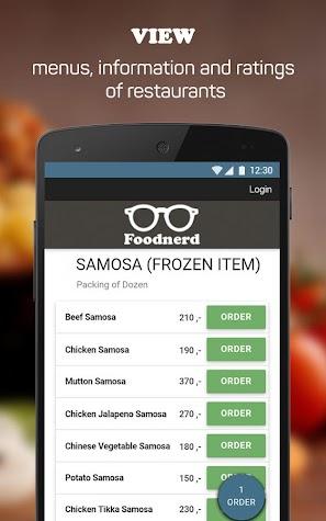 Foodnerd - Food Delivery App Screenshot