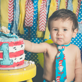Dom by Jenny Hammer - Babies & Children Babies ( cake, one, smash, baby, boy )
