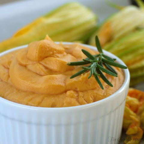 Sweet Potatoes with Marscarpone & Rosemary Browned Butter
