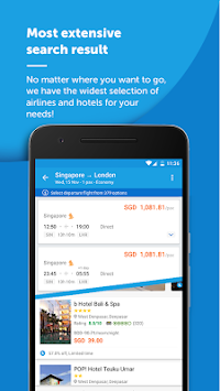 Traveloka Book Flight & Hotel APK screenshot thumbnail 5