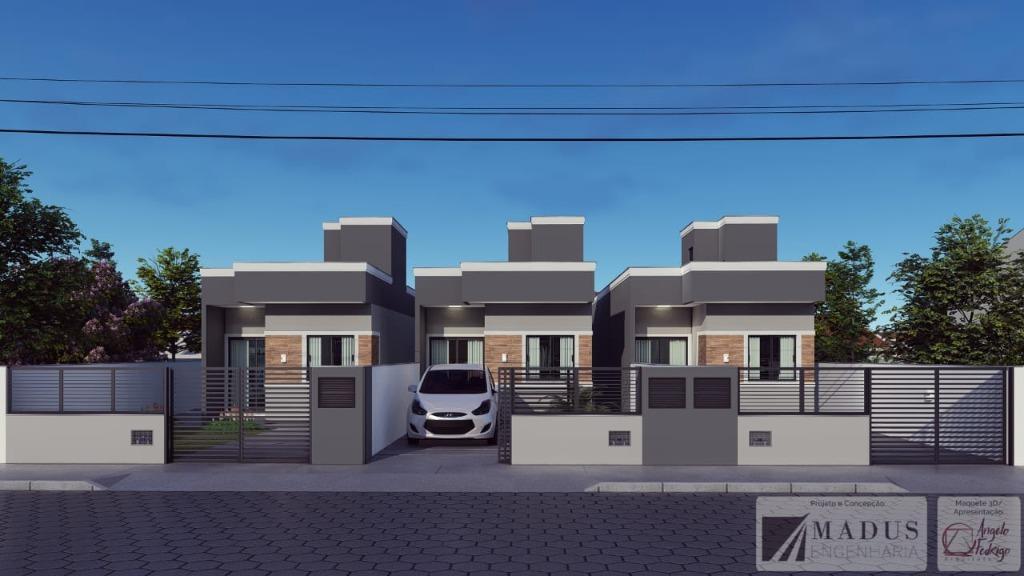 Casa com 2 dormitórios à venda, 54 m² por R$ 165.000 - Joaia - Tijucas/SC