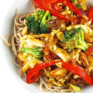 Stir Fry Vegetables With Pasta Recipes