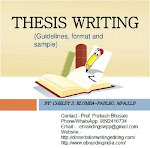 Thesis writing services in Lucknow