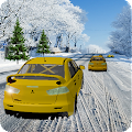 Snow Taxi Driver Racing 2016 APK for Bluestacks