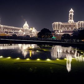 Rastrapati Bhawan India by Vishnu Agrawal - Buildings & Architecture Statues & Monuments