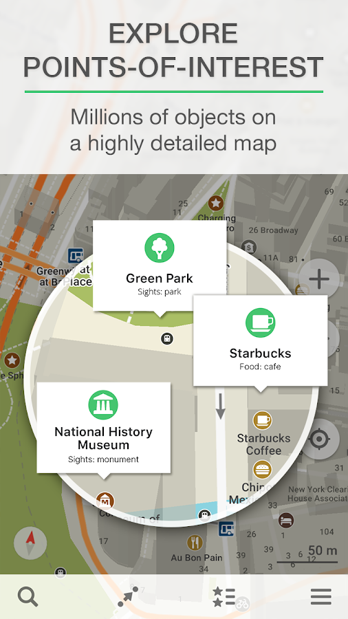 MAPS.ME – Map & GPS Navigation Screenshot 1