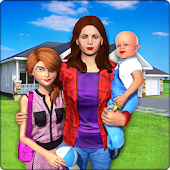 Virtual Family New Baby Single Mom Adventure