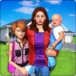 Virtual Family New Baby Single Mom Adventure For PC (Windows / Mac)