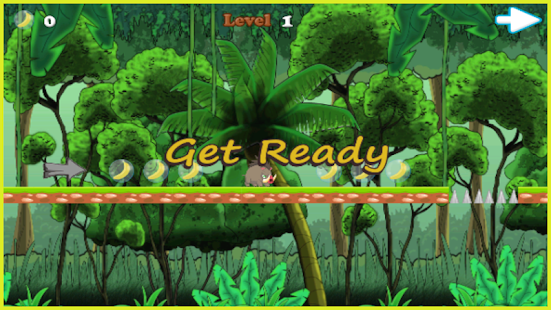 George Monkey Jungle Adventure - screenshot