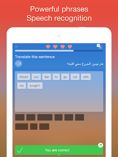 App Learn Arabic. Speak Arabic apk for kindle fire