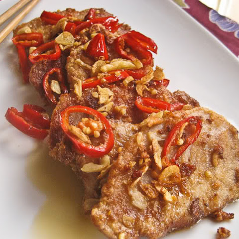 Salt and Pepper Pork Chops