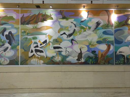 Wall Painting at Lanka Hospital