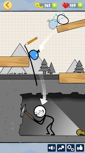 Bad Luck Stickman- Addictive draw line casual game