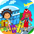 Game My Pretend Airport - Kids Travel Town FREE APK for Windows Phone