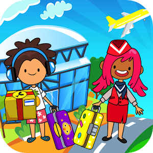 My Pretend Airport - Kids Travel Town FREE For PC (Windows & MAC)