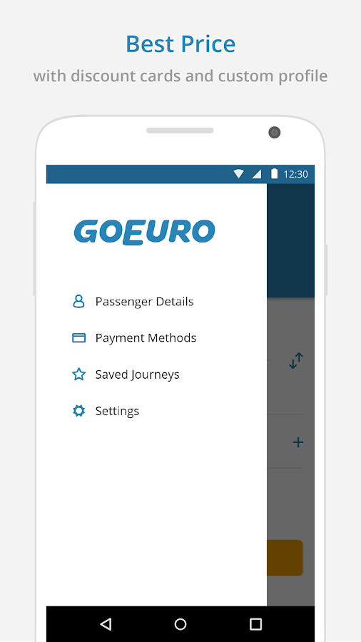 GoEuro: trains, buses, flights Screenshot 3