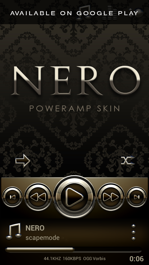 NERO Next Launcher 3D Theme Screenshot 6