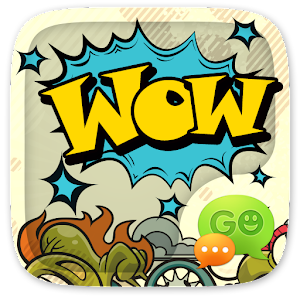 (FREE) GO SMS WOW THEME 1.1