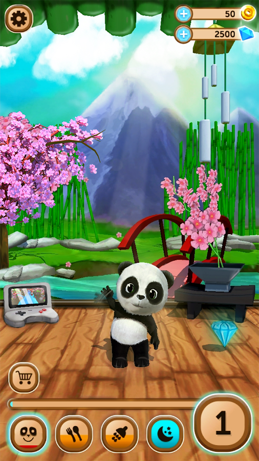 Daily Panda : virtual pet Screenshot 1