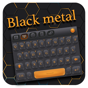 Download Blackmetal for FancyKey Keyboard for PC - Free Tools App for PC