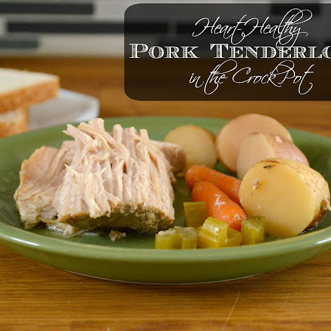 Heart-Healthy Crock Pot Pork Tenderloin