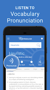 Dictionary.com: Find Definitions for English Words Screenshot