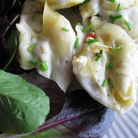 Crab-Stuffed Shells
