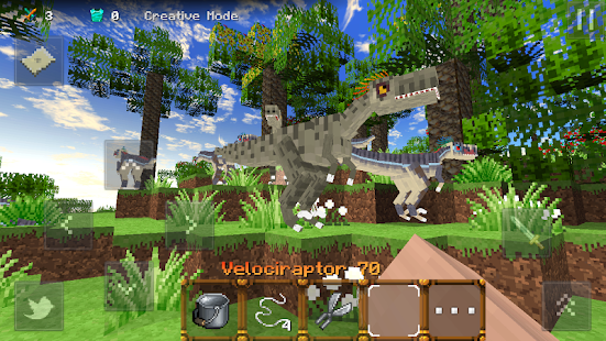 Jurassic Craft APK for Bluestacks