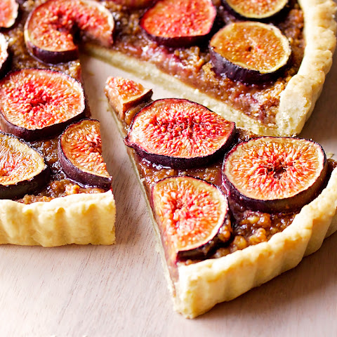 Nut and Fig Tart