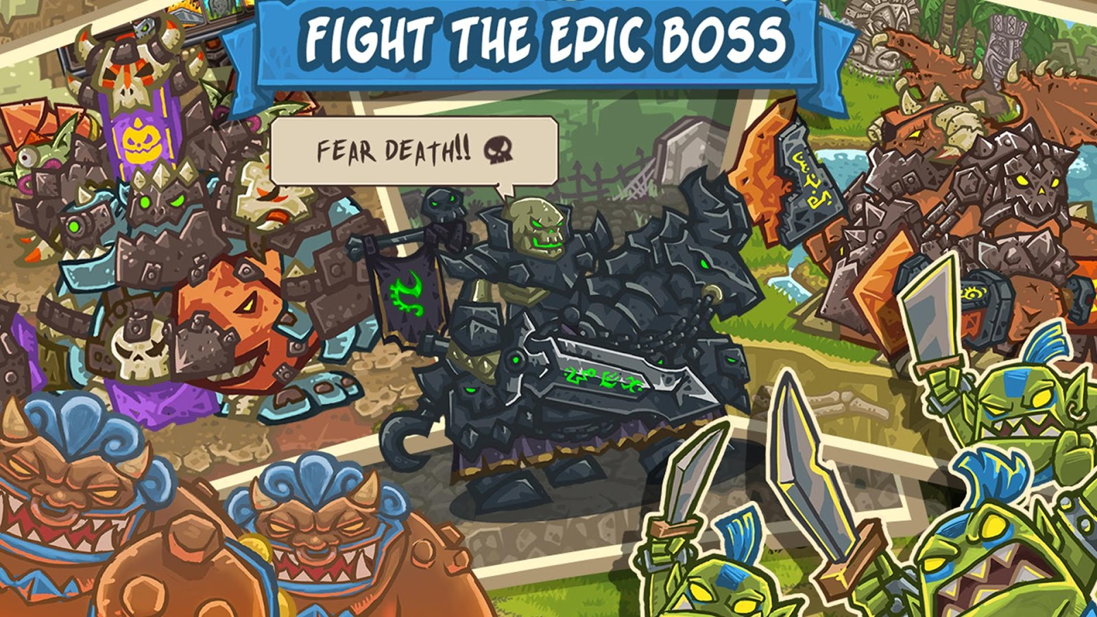 Clash of Monsters - CoM Screenshot 4