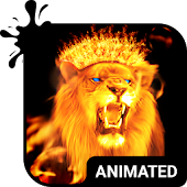 Fire Lion Animated Keyboard APK for Lenovo