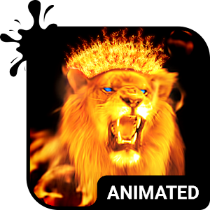 Fire Lion Animated Keyboard Android Apps On Google Play