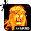 Fire Lion Animated Keyboard