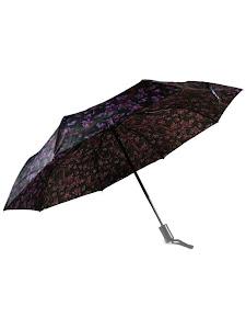 """Зонт """"Компакт L"""", 110см, черно-фиолетовый"""