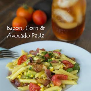 Avocado Corn Pasta Recipes