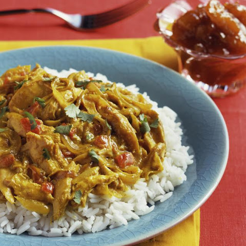 Slow Cooker Chicken Curry With Rice