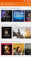 Screenshot of Audio Books by Audiobooks