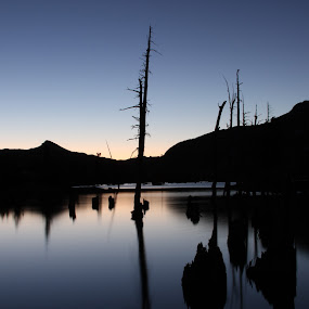 Desolation Wilderness Lake Aloha by Kenneth Glazebrook - Landscapes Waterscapes ( desolation wilderness lake aloha )