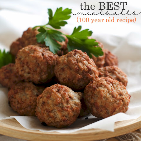 The Best Meatballs Ever